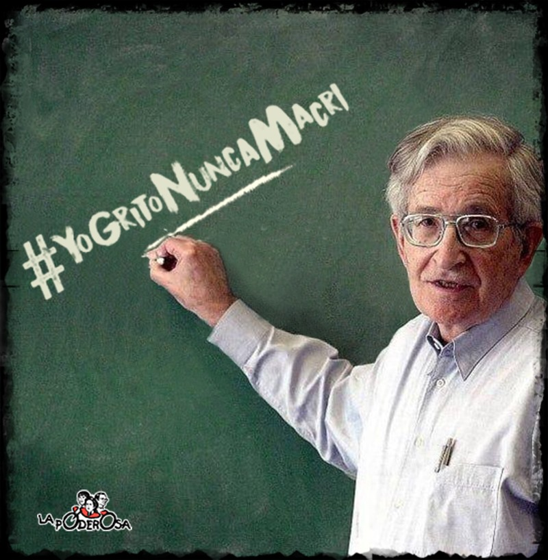Chomsky en la Garganta