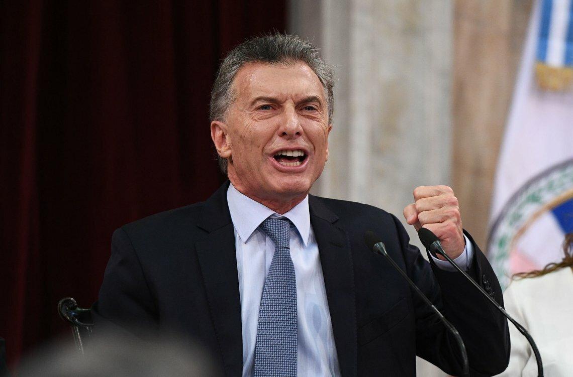 Macri no hizo mérito